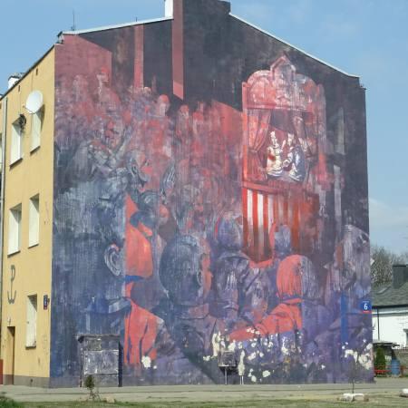 תמונה לסיור בפראגה של וורשה אומנות רחוב